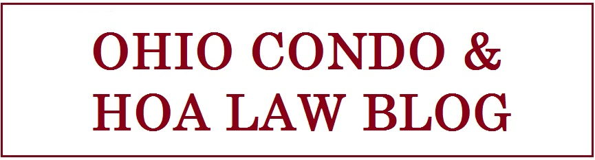 OHIO CONDO AND HOA LAW BLOG