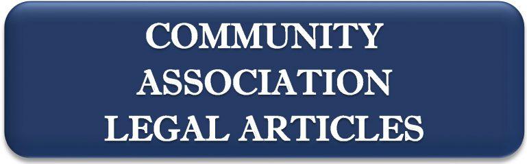 Community Association Legal Articles